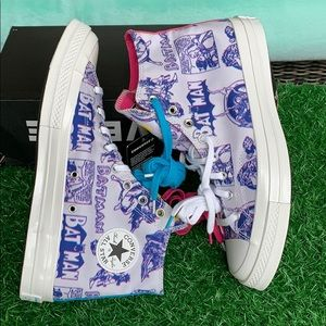 CONVERSE CHUCK 70 HI MOUSE/WHITE/PURPLE MEN'S
